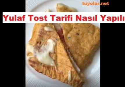 Yulaf Tost Tarifi Nasıl Yapılır