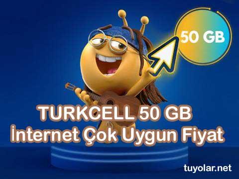 Turkcell 50 GB İnternet Çok Uygun